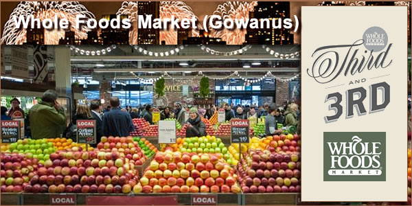 Whole Foods Gowanus - my favorite too!!!