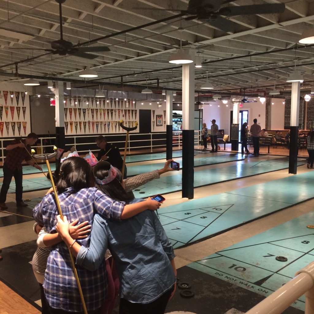 Royal Palms Shuffleboard Club Brooklyn