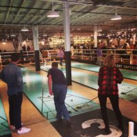 Royal Palms Shuffleboard Club Brooklyn – Really fun!  Planning to come back here with a group.