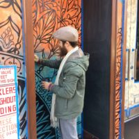 Paulaner NYC is getting an exterior makeover – Beau Stanton is the artist!!