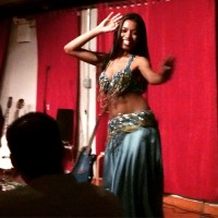 Bellyqueen performances – downstairs at Jebon Sushi NYC – every Wednesday