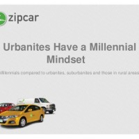 Zipcar Survey: City-Dwellers, Across All Ages, Have A Millennial Mindset