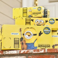 Amazon Turns Boxes Into Ads In First-Of-Its-Kind Marketing Deal For Minions