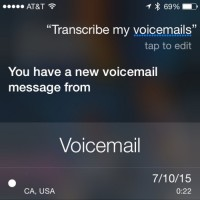 Apple's new Siri service is amazing especially if you hate voicemail!