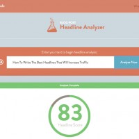 Use this nifty analyzer tool and make your headlines go viral