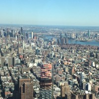 WTC Observatory Elevator ride up to 102nd floor is AMAZING!!