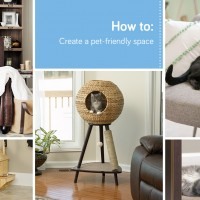 Sauder Pet Homes: check out this cool indoor dog house