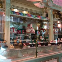 Christmas windows: lackluster this year, very little spectacle or pizzazz
