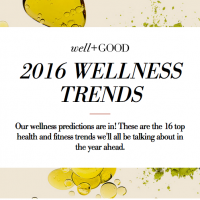 Top wellness trends of 2016 from Well + Good