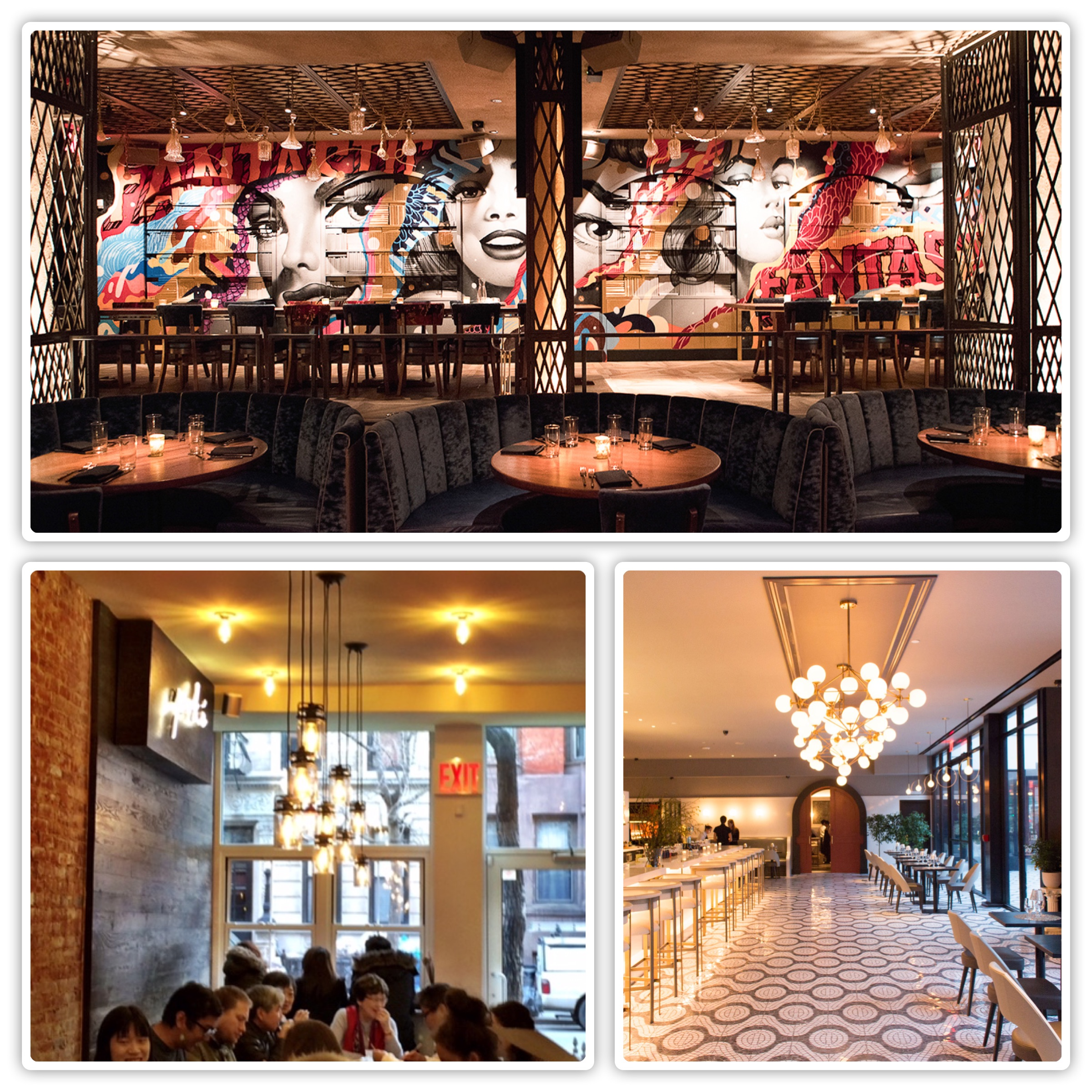 Restraurants: 3 Hottest New Dining Spots In NYC: Vandal, La Sirena And