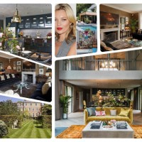 Kate Moss Has a New Gig: Interior Designer With a Brit, Laid-Back, Eclectic Style