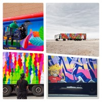 Truck art is the next big thing as street artists forego walls for wheels
