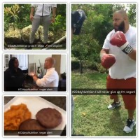 Vegan alert: DJ Khaled is on the #22DayNutritionDiet