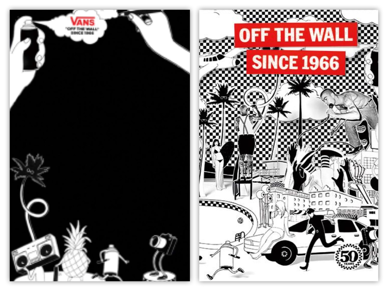BRILLIANT marketing from Vans  Off The Wall for 50 Years!!  1e68b0c1bf