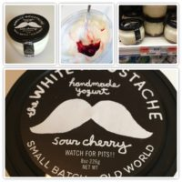 If you're a yogurt fan, check out White Moustache – the BEST I've ever had!!