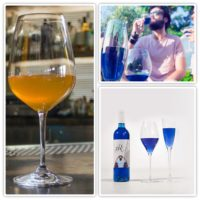 Orange vs. Blue Wine? My money's on Gik Blue