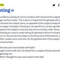 Ghosting, manspreading, warmist: Most popular new words