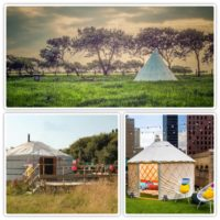 The Brits are Super Excited To Be Glamping in Yurts and Tipis