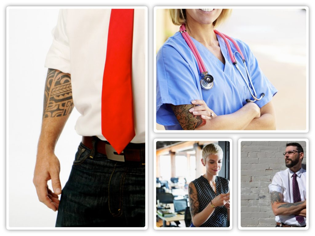 Interesting Statistics About Tattoos In The Workplace