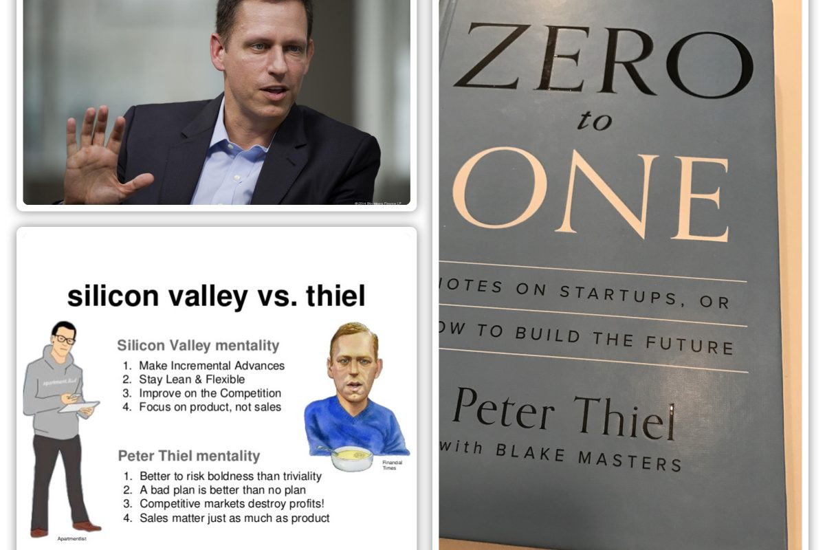 BOOK REVIEW: Why You Need to Read Peter Thiel's Zero To One!