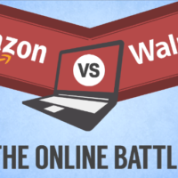 RETAIL TRENDS: Wal-Mart and Amazon Battle It Out