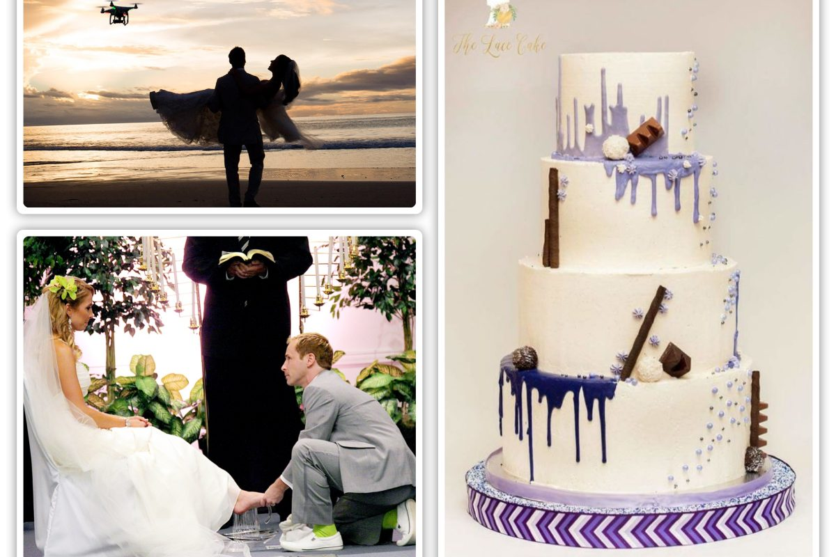 WEDDING TRENDS: More Authentic,Techie and Fun