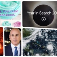 Year in Google Search:  What was Trending in 2017