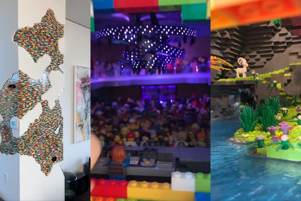 Check Out This Awesome Lego Art Installation