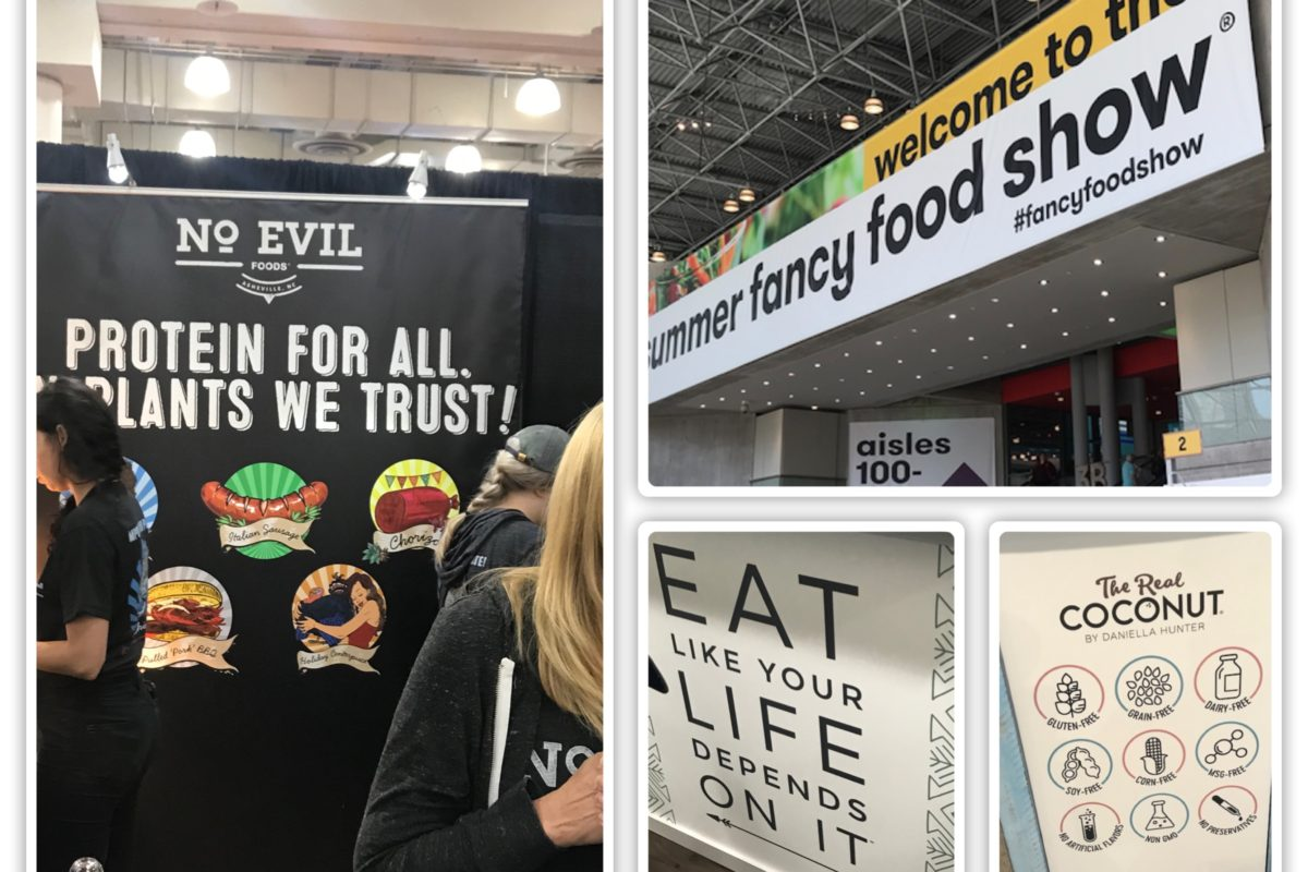 The Summer Fancy Food Show 2019: When Did Fake Get So Popular?