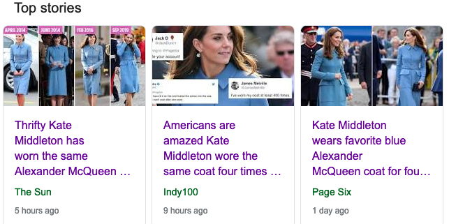 Kate Wore A Coat 4 Times And It's News? What Happened To Sustainability?