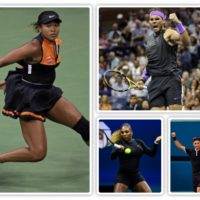 US Open Players Look Stunning In Designer Black