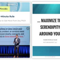 Use The 3-Minute Rule To Make The Most Of Serendipitious Opportunities