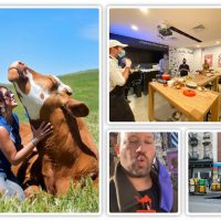 Top 10 List: Amazon's Last Mile, Return Of Foodie Events, Cow Cuddling Therapy